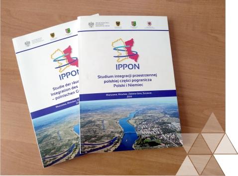 """Opracowanie """"IPPON - Studium integracji przestrzennej polskiej części pogranicza Polski iNiemiec"""" ukończone!"""