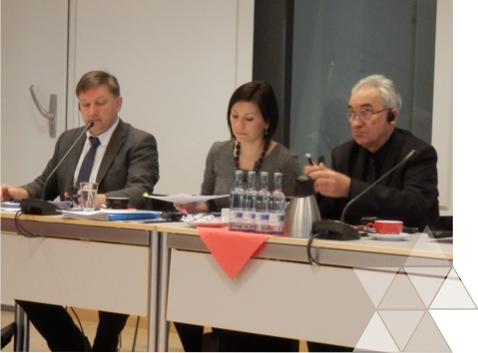 Spotkanie Grupy Sterującej projektu TRMS wNeubrandenburg