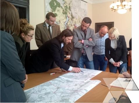 Spotkanie zprzedstawicielami gmin inadleśnictw wMyśliborzu wdniu 29 czerwca 2015 r.