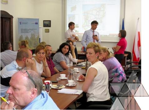 Spotkanie z przedstawicielami gmin i nadleśnictw w Karlinie w dniu 3 lipca 2015 r.