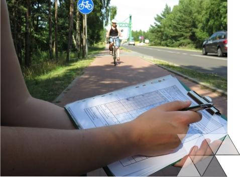 Trzecie pomiary ruchu rowerowego wdniu 6 lipca 2015 r.