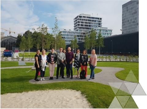 Wizyta studyjna wWydziale Planowania Przestrzennego Berlina iBrandenburgii