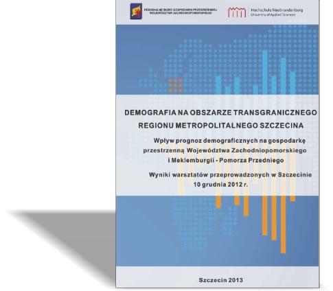 Demografia naobszarze transgranicznego regionu metropolitalnego Szczecina