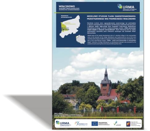 URMA – Modelowe studium planu zagospodarowania przestrzennego wsi podmiejskiej Wołczkowo - broszura