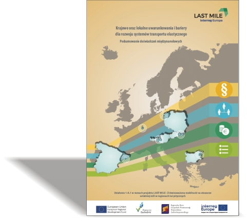 Krajowe oraz lokalne uwarunkowania i bariery dla rozwoju systemów transportu elastycznego / Podsumowanie doświadczeń międzynarodowych