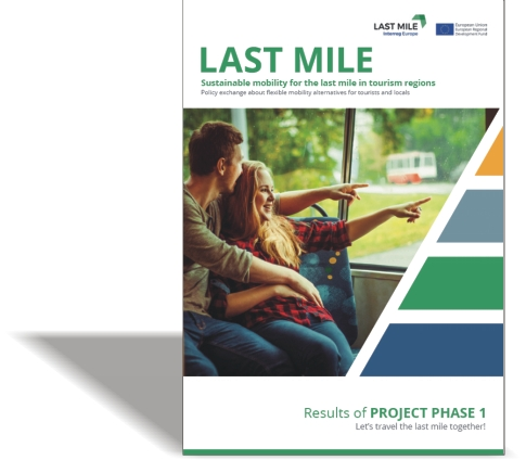 LAST MILE – Sustainable mobility for the last mile in tourism regions. Results of project phase 1