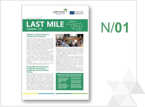 Pierwszy biuletyn informacyjny projektu LAST MILE już dostępny!