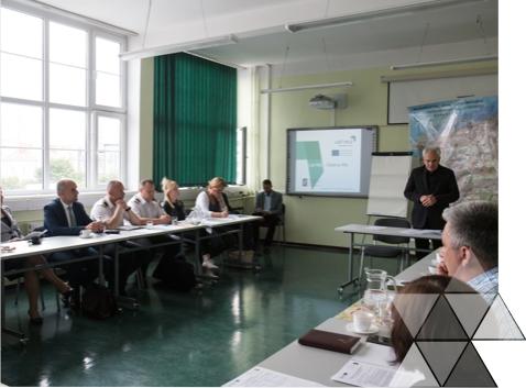 I spotkanie regionalnych interesariuszy projektu LAST MILE w dniu 14 czerwca 2016 r. w Szczecinie