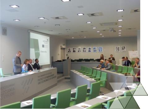II spotkanie regionalnych interesariuszy  projektu LAST MILE, 22 września 2016 r. w Szczecinie