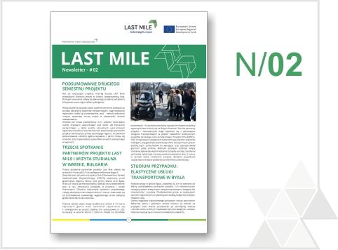 Drugi biuletyn informacyjny projektu LAST MILE jest już dostępny!
