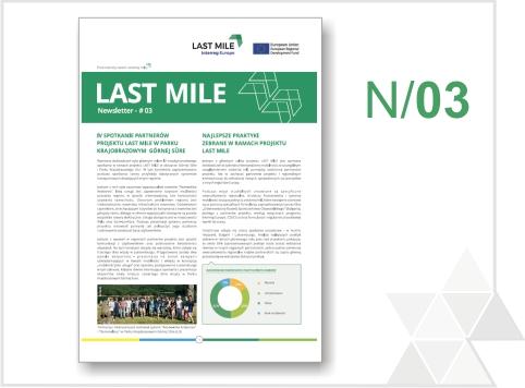 Trzeci biuletyn informacyjny projektu LAST MILE jest już dostępny!