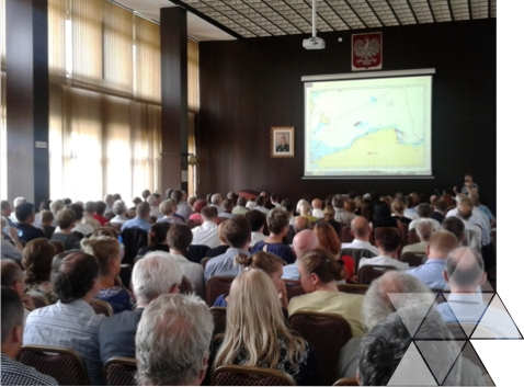 Spotkanie konsultacyjne Studium morskiego Bałtyku wdniu 15 lipca 2014 r. wGdyni