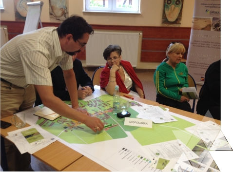 Konsultacje społeczne projektu URMA wWołczkowie