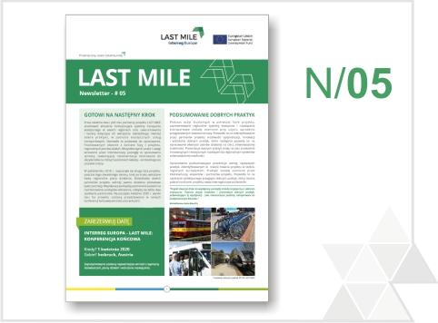 Piąty biuletyn informacyjny projektu LAST MILE