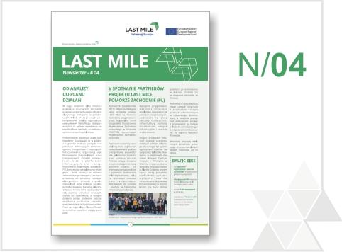 Czwarty biuletyn informacyjny projektu LAST MILE już dostępny!