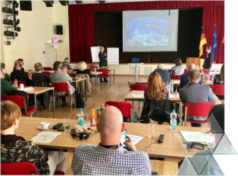 Udział wwarsztacie Euroregionu Pomerania wSchwedt nadOdrą