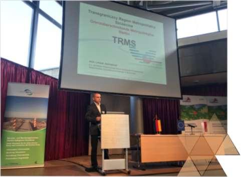 Wykład wprowadzający oRegionie Metropolitalnym Szczecina podczas 85. Polsko-Niemieckiego Forum Przedsiębiorców wSchwedt nadOdrą