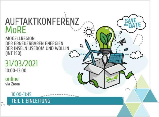 """Auftaktkonferenz des deutsch-polnischen Interreg-Projektes """"Modellregion der Erneuerbaren Energien der Inseln Usedom und Wollin"""""""