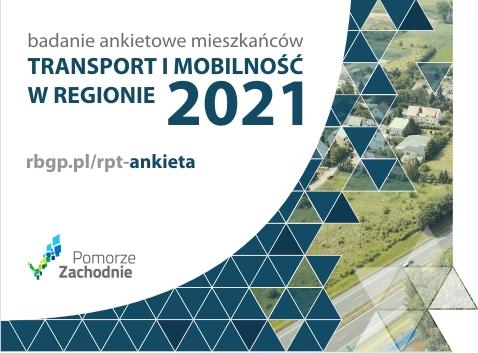 """Weź udział w ankiecie """"Transport i mobilność w regionie 2021""""!"""